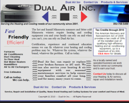 Click to display Dual Air Inc. Info