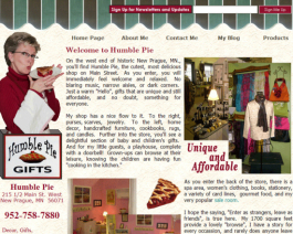 Click to display Humble Pie Info
