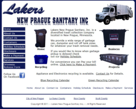 Click to display Lakers New Prague Sanitary Info