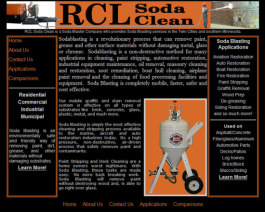 Click to display RCL Sodaclean Info