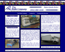Click to display The Roller Company Info