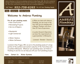 Click to display Ambroz Plumbing Info
