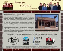 Click to display Tupy Insurance Info