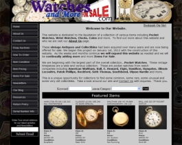 Click to display Watches and More Info