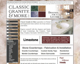 Click to display Classic Granite & More Info