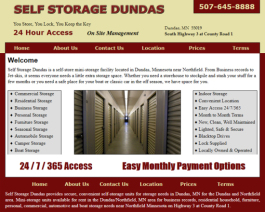 Click to display Self Storage Dundas Info