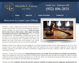 Click to display Michelle Lureen Law Info