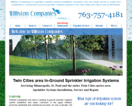 Click to display Williston Companies Info