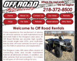 Click to display Off Road Rentals Info