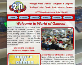 Click to display World of Games Info