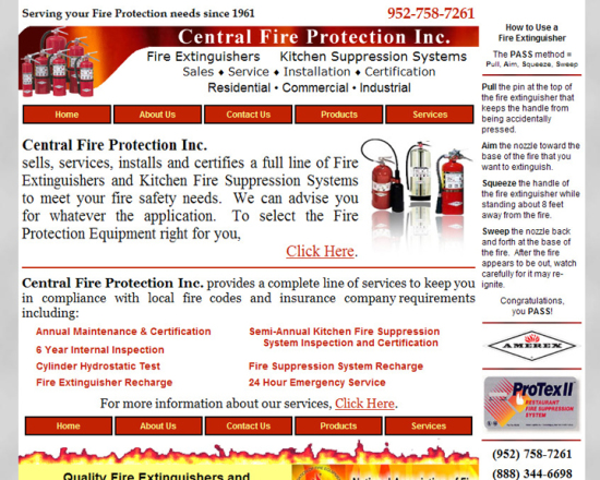Central Fire Protection Inc.