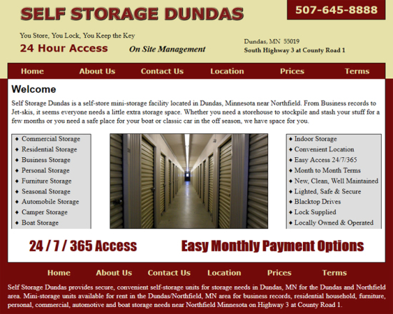 Self Storage Dundas