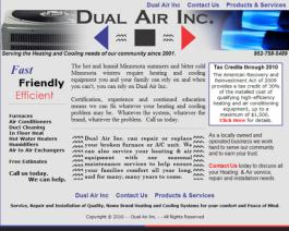 Click to display Dual Air Inc. Info