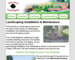 Click to display Odenthal Landscaping Info