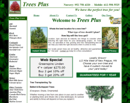 Click to display Trees Plus Info