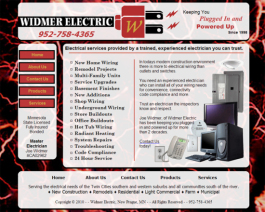 Click to display Widmer Electric Info