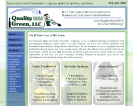 Click to display Quality Green Info
