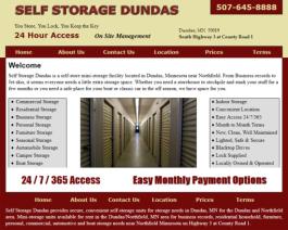 Click to display Self Storage Dundas Info