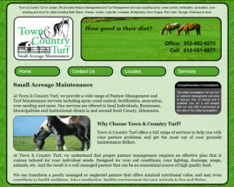 Click to display Town & Country Turf Info