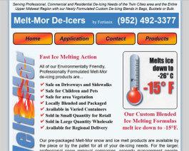 Click to display Melt-Mor De-Icers Info
