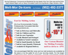 Click to display Melt-Mor De-Icers Info