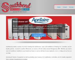 Click to display Southbend Electric Info
